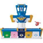 Playset Quartier Général des Super Wings Saison 3 + 1 figurine Transform a bot