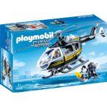 Playmobil 9363 - Hélicoptère et policiers d'élite