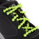Xtenex Special Running - Lacets autobloquant - Jaune fuo - 75 cm