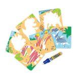 Tomy Mini tapis Aquadoodle - Dinos et zoo