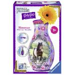 Ravensburger Girly Girl - Puzzle 3D vase chevaux