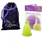 MeLuna Coupe menstruelle Anneau - Taille S - Vert