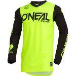 O'neal Maillot cross Threat Rider jaune fluo - S