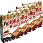 Ferrero Nutella B-Ready x 8 pieces, 152,8g (Pack de 4)