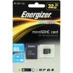 Energizer Carte MicroSDHC 32 Go Class 10 avec adapteur