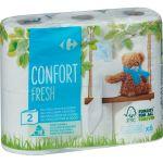 Carrefour Papier toilette Confort Fresh