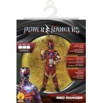 Rubie's Déguisement Power Rangers rouge
