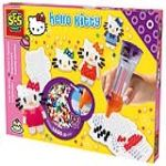 Ses Creative Boîte de 1600 perles à repasser Hello Kitty avec perlamatic