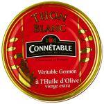 Connétable Thon Blanc Véritable Germon à L'Huile d'Olive Vierge Extra 80 g