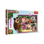 Trefl Puzzle Pièces XXL - Masha & the Bear