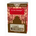 Tisanes & traditions Un bol d'énergie! boite bois 30 sachets