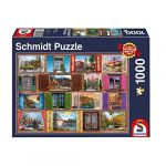 Schmidt Puzzle 1000 pièces : Fenêtres grandes ouvertes