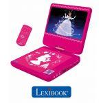 Lexibook Lecteur DVD portable Disney Princesses