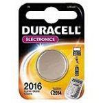 Duracell 033948 - Pile Bouton Lithium CR2016 3V 90 mAh