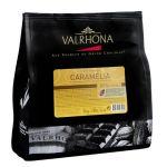 Valrhona Chocolat caramel de couverture en fèves Caramélia - Sachet 1kg