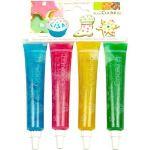 Scrapcooking 4 stylos colorants gel pailleté