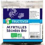 Fructivia Myrtilles séchées 100g