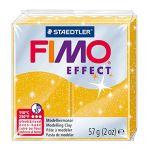 Fimo Effect - Pain Pâte à Modeler 57 g Effet Pailleté Or