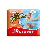 Huggies Little Swimmers taille 5/6 (12-18 kg) - 19 couches de bain