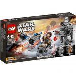 Lego 75195 - Star Wars : Microfighter Ski Speeder vs. Quadripode du Premier Ordre