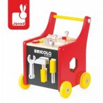 Janod Chariot magnétique Bricolo Redmaster