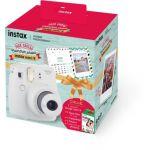 Fujifilm Instax Mini 9 Blanc - Pack Cadeau calendrier