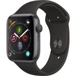 Apple Watch Series 4 - 44mm - Alu Gris Sidéral - Bracelet Sport Noir