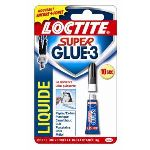 Loctite Super Glue 3 Liquide - Tube de colle cyanoacrylate 3g