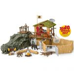 Schleich 42350 - Kit station de recherche Croco dans jungle