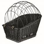 Trixie 13117 - Panier pour vélo avec grille pour chien L 49 x l 35 x H 55 cm