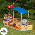 KidKraft 00128 - Bac à sable « bateau pirate »
