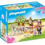 Playmobil 9427 - City Life : Carrosse et couple de mariés