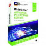 Bitdefender Antivirus PC Lifetime Edition 2018 pour Windows