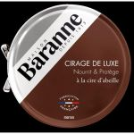 Baranne Cire pour Chaussures Luxe Marron - 75ml
