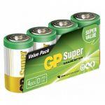 GP Pack de 4 piles LR20