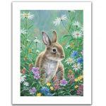 Pintoo Puzzle en Plastique - Abraham Hunter - Spring Bunny
