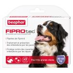 Beaphar Fiprotec très grand chien 40 - 60 kg 4 pipettes