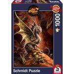 Schmidt Puzzle 1000 pièces : Dragon du désert