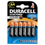 Duracell 6 piles AA LR06 Ultra Power Duralock