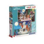 Clementoni Puzzles SuperColor 2x20 pièces - Disney Animals