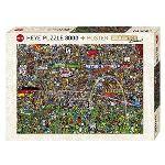 Heye Histoire du Football : Édition Spéciale - Puzzle 3000 pièces