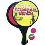 Kim'play Jeu de Raquettes Beach Scratch + 2 Balles