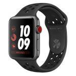 Apple Watch Nike+ 42 mm Series 3 (GPS Cellulaire) - Boîtier Alu Bracelet sport Nike ou Boucle sport Nike
