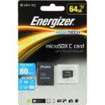 Energizer Carte MicroSDXC 64Go Class 10 avec adapteur