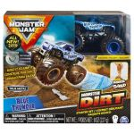 Spin Master Hot Wheels - Véhicule 1/64 ème - Monster Jam - Blue Thunder Monster Dirt
