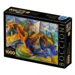 Dtoys Puzzle Umberto Boccioni - Horse-Rider-Buildings