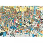 Jumbo Van Haasteren Jan : Faites La Queue ! - Puzzle 1000 pièces