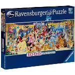 Ravensburger Puzzle panoramique Disney Photo de groupe 1000 pièces