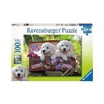Ravensburger Prêts pour le voyage - Puzzle XXL 100 pièces