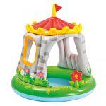 Intex Piscine avec pare soleil château - piscine gonflable